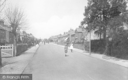 Horley, Albert Road 1922