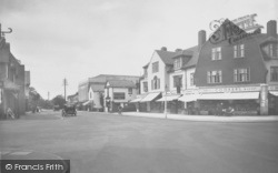 Horley, Central Buildings, Victoria Road 1935
