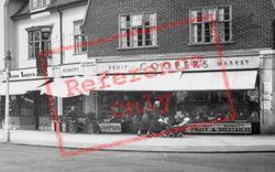 Horley, Cooper's Fruit Market 1935