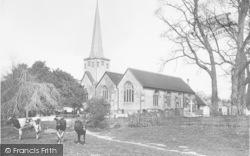 Horley, St Bartholomew's Church 1906
