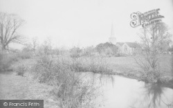 Horley, St Bartholomew's Church And River Mole 1906