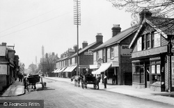 Horley, Station Road 1905