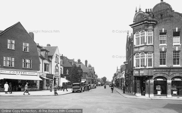 Horley, Station Road 1935