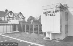 Horley, The Chequers Hotel c.1965