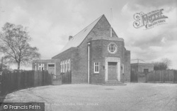 Horley, The Empire Hall, Victoria Road 1929