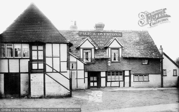 Horley, the Six Bells, 1905. Reproduced courtesy of The Francis Frith Collection