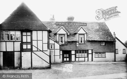 Horley, The Six Bells 1905