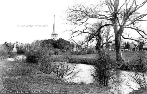 Horley, view from the River 1906