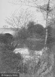 Horley, View On The River Mole 1905