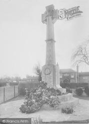 Horley, War Memorial 1928