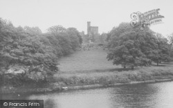 The Castle From Loyne Bridge c.1955, Hornby