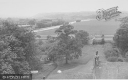 View From The Church Tower c.1955, Hornby