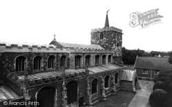 Horncastle, St Mary's Church c.1965