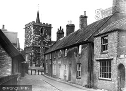 Horncastle, St Mary's Square c.1955