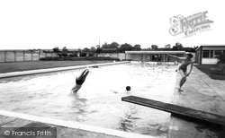 Horncastle, Swimming Pool c.1965