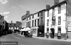 Horncastle, The Bull Ring c.1955