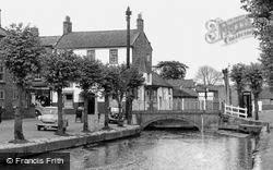 Horncastle, The River Waring Bridge c.1955