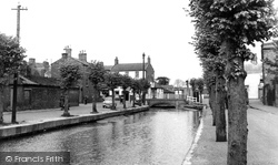 Horncastle, The River Waring c.1955