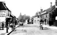 Hornchurch, High Street 1909