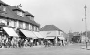Hornchurch, High Street c.1950