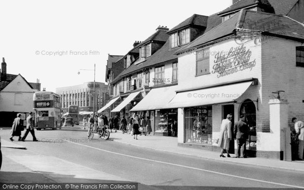 Photo of Hornchurch, High Street c.1950