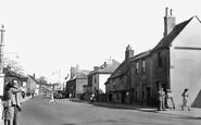 Hornchurch, Old Houses, High Street c.1950
