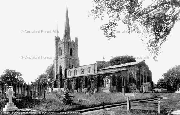 Hornchurch St Andrew S Church 1908