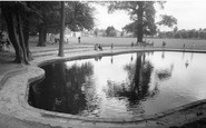 Hornchurch, The Boating Pool c.1960