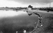 Hornchurch, The Park And Boating Lake c.1960