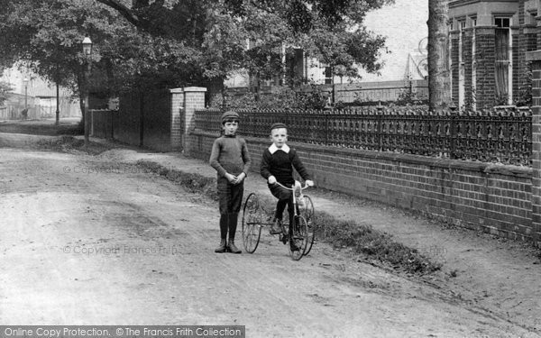 Photo of Hornchurch, Tricycle 1909