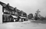 Hornchurch, Woodhall Parade c1950