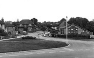 Horndean, Five Heads Road c 1955