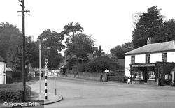 Post Office Corner c.1955, Horndean