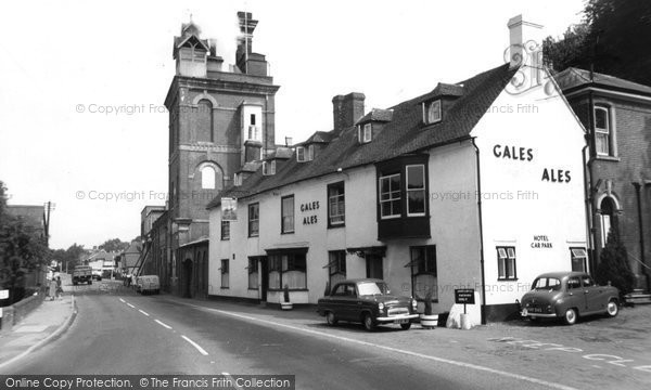 Horndean, Ship and Bell  c1960