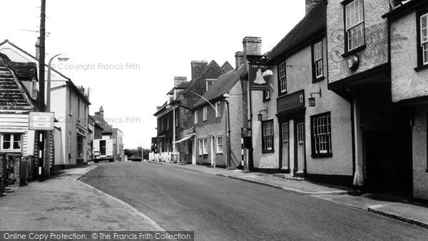 Horndon-on-the-Hill, the High Street c1960, Essex.  (Neg. H178006)  © Copyright The Francis Frith Collection 2005. http://www.francisfrith.com