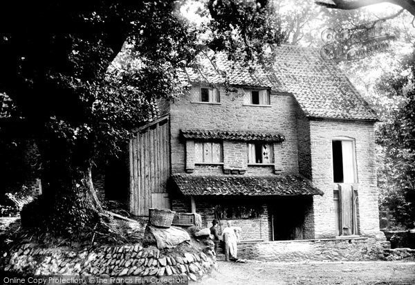 Selworthy,Horner Mill 1890,Somerset