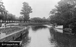 Horningsea, River Cam c.1955
