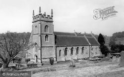 St John The Baptist's Church c.1955, Horningsham