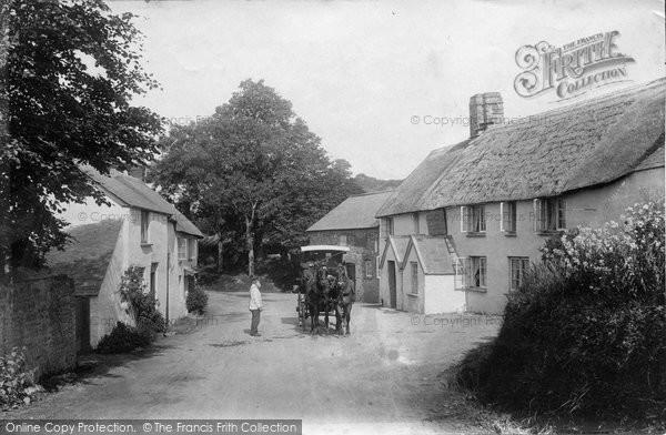 Photo of Horns Cross, Hoops Inn 1906