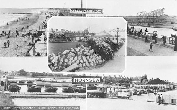 Photo of Hornsea, Composite c.1955