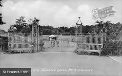 Park Entrance, The Alphabet Gates c.1950, Hornsea