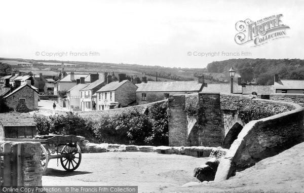 Photo of Horrabridge, The Bridge 1898