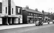 Horsforth, New Road Side and Glenroyal Cinema c1960