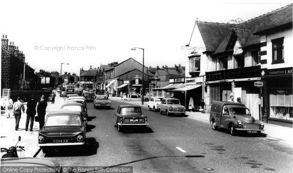 Photo of Horsforth, New Road Side c1965