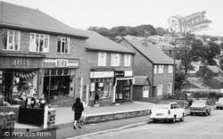 Shops, Station Road c.1965, Horsforth