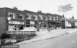 Shops, Tinshill Road c.1965, Horsforth