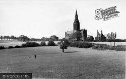 St Margaret's Church c.1955, Horsforth