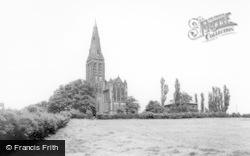 St Margaret's Church c.1965, Horsforth