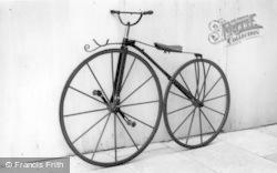 Horsham, Boneshaker Bicycle c.1870