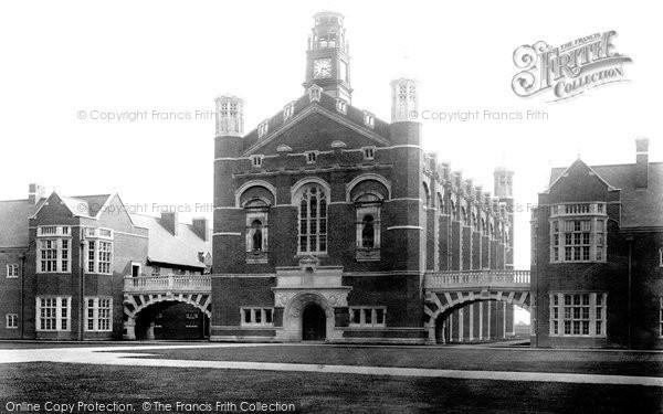 Photo of Horsham, Christ's Hospital, Big School 1902